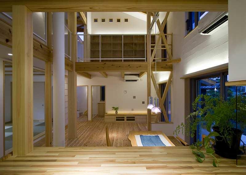 西条のソーラー床暖の家